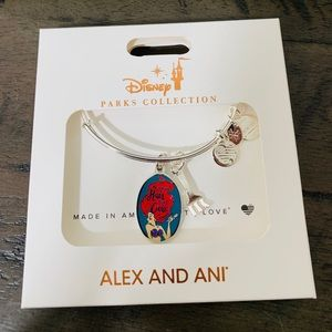 Disney Alex and Ani Ariel Bangle Bracelet